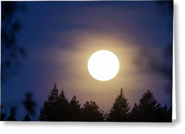 Super Full Moon Greeting Card