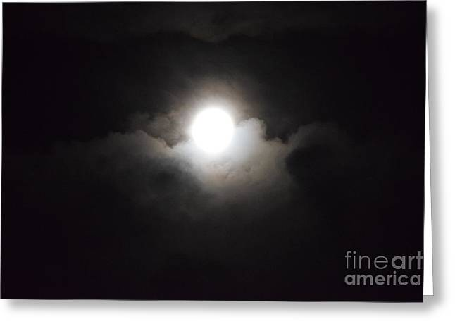 Super Moon 1 Greeting Card