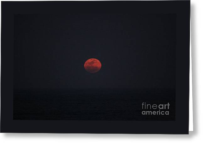 Super Moon Greeting Card
