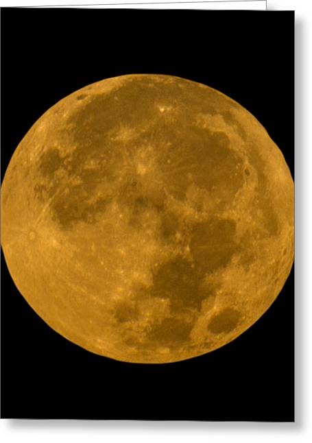 Super Moon Monday Greeting Card