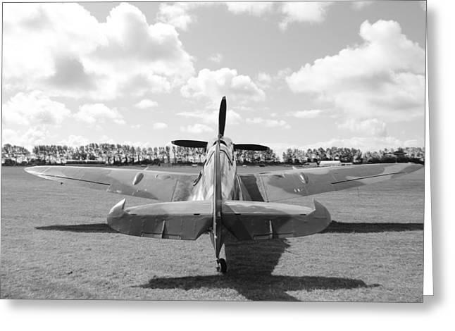 Supermarine Spitfire Mk Ix Greeting Card