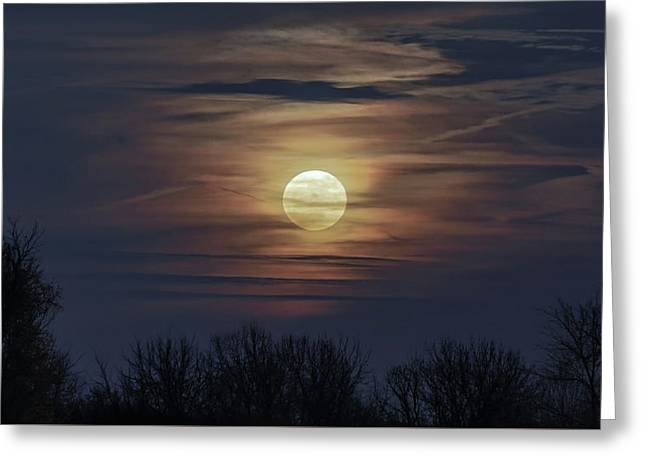 Supermoon Greeting Card