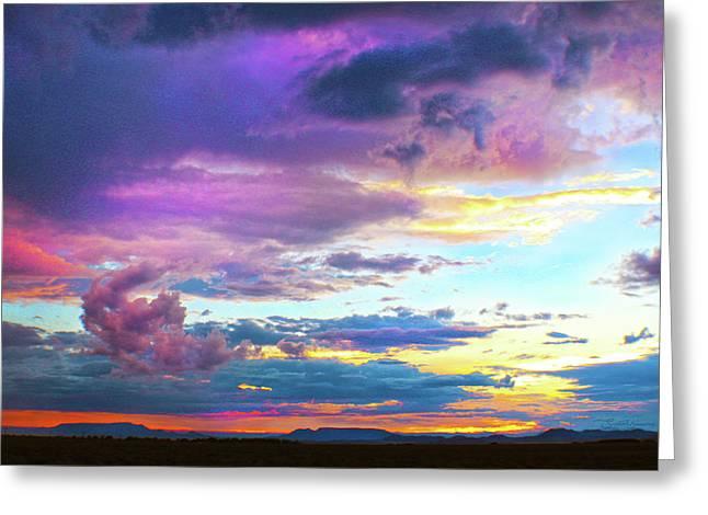 Supernatural Sky - Colorado Greeting Card