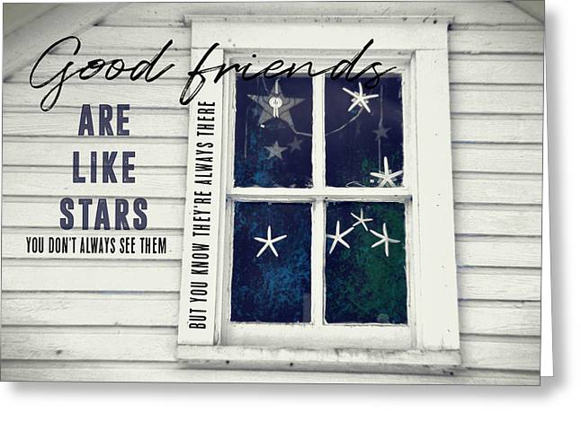 Superstars Quote Greeting Card by JAMART Photography