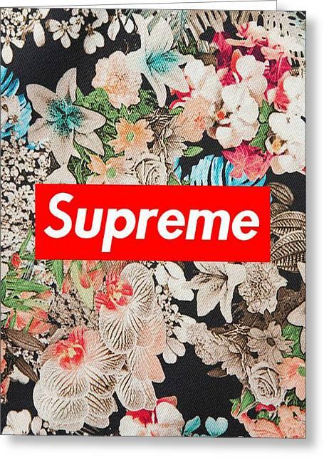 Supreme Flowers Greeting Card