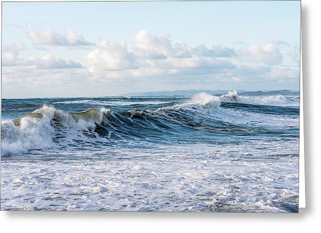 Surf And Sky Greeting Card