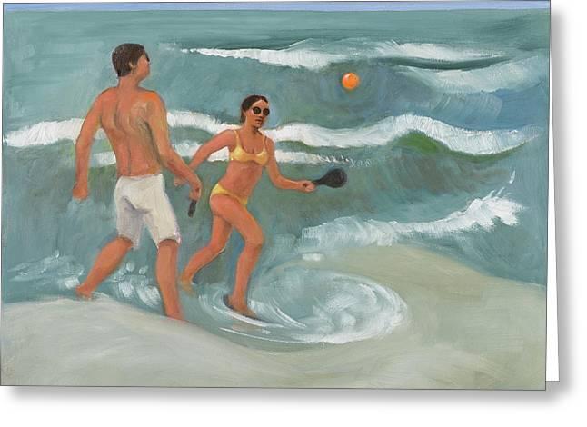 Surf Ball Greeting Card