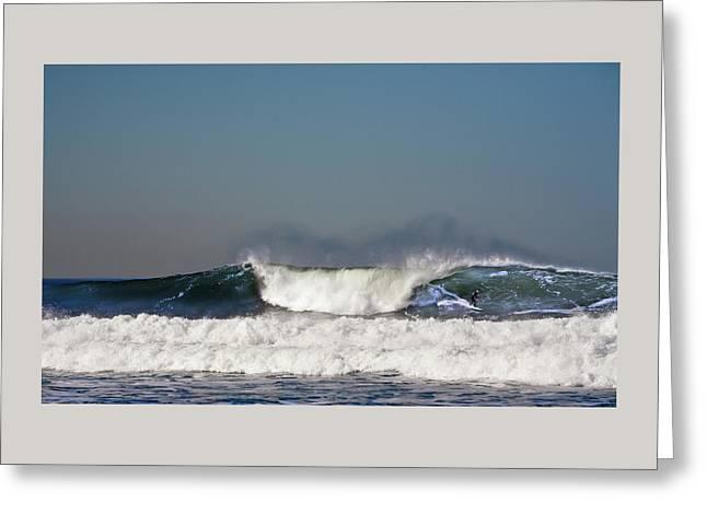 Ocean Beach Surf Greeting Card