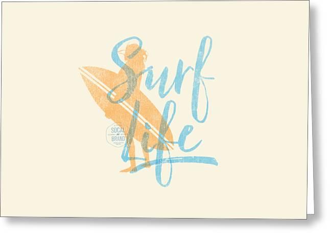 Surf Life 2 Greeting Card