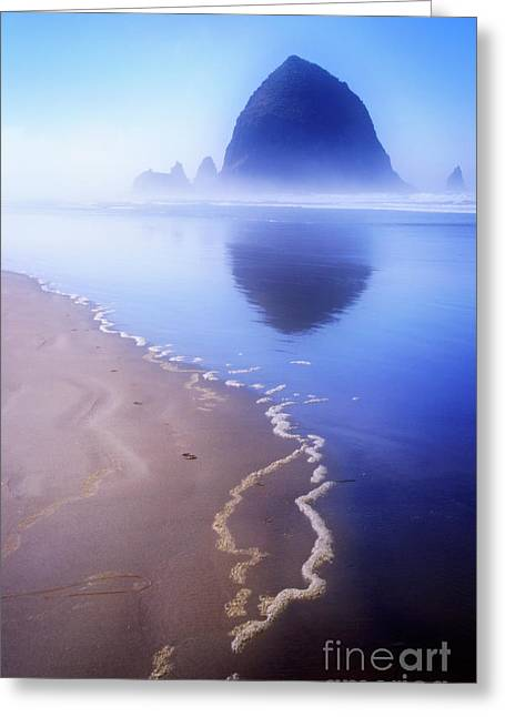 Surf Reflection Greeting Card