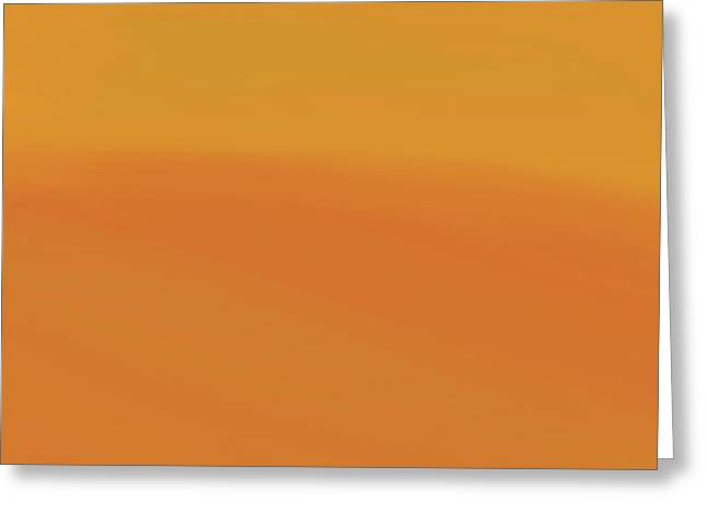 Surface Of The Sun Greeting Card by Dan Sproul