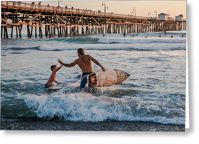Surfboard Inspirational Greeting Card