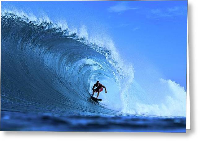 Greeting Card featuring the photograph Surfer Boy by Movie Poster Prints