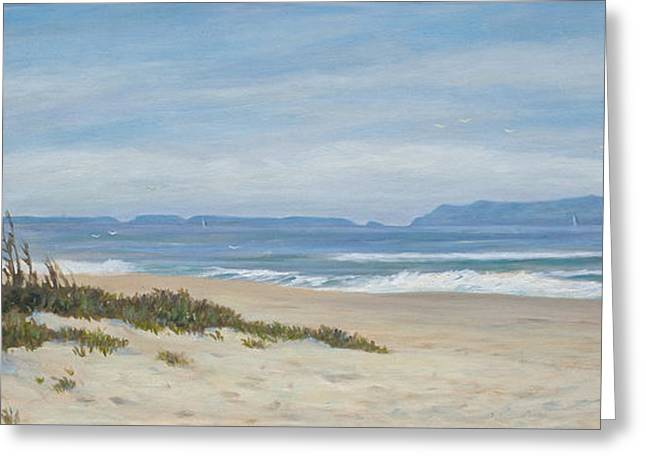 Surfer's Knoll  Greeting Card by Tina Obrien