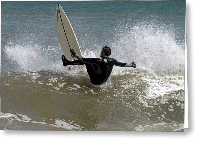 Surfing 1 Greeting Card