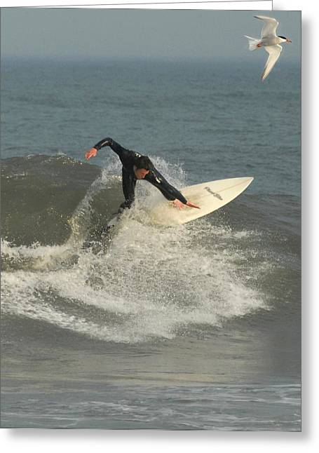Surfing 11 Greeting Card