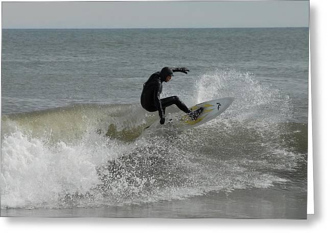 Surfer Art Greeting Cards - Surfing 115 Greeting Card by Joyce StJames