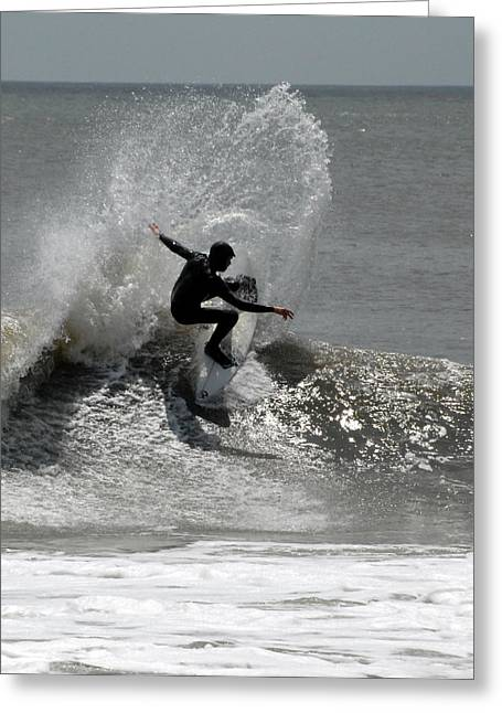 Surfing 12 Greeting Card