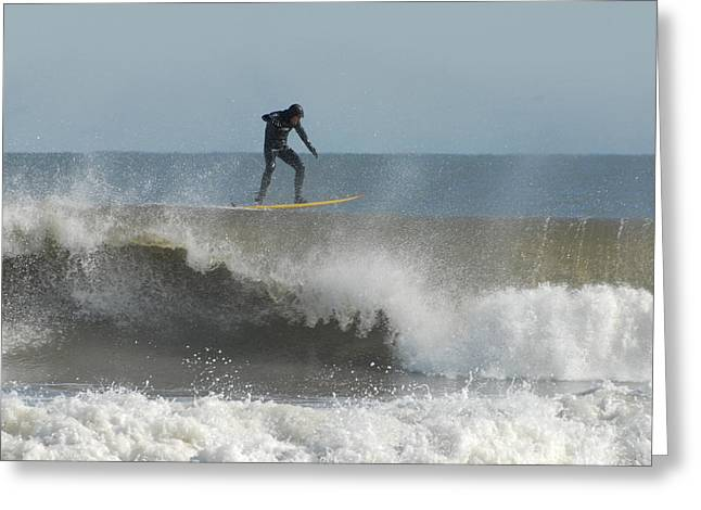 Surfing 14 Greeting Card