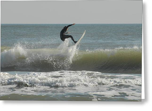 Surfing 15 Greeting Card