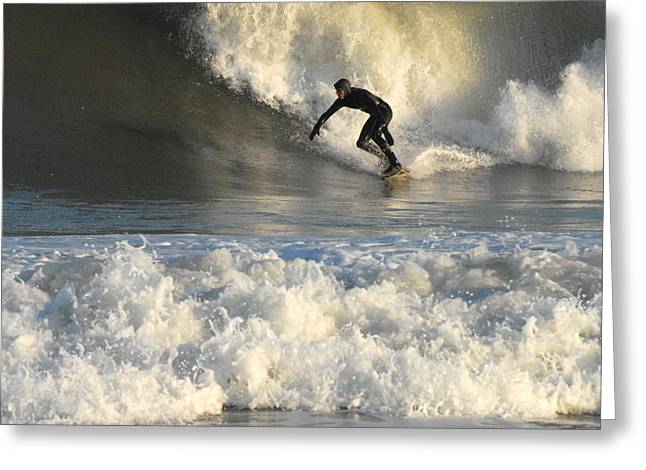 Surfing 4 Greeting Card
