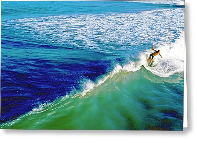 Surfs Up Daytona Beach Greeting Card