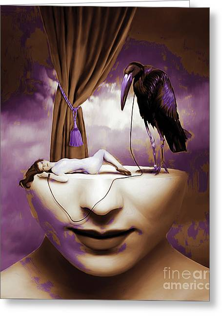 Surreal Art 032 Greeting Card