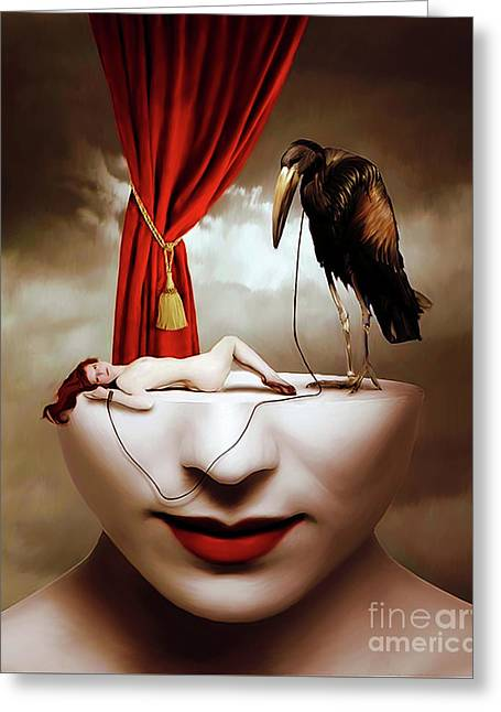 Surreal Art Hh09 Greeting Card