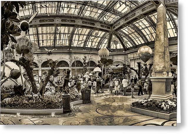Surreal Gardens Greeting Card by Ricky Barnard