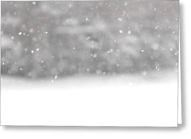 Surreal Snowdrops Greeting Card