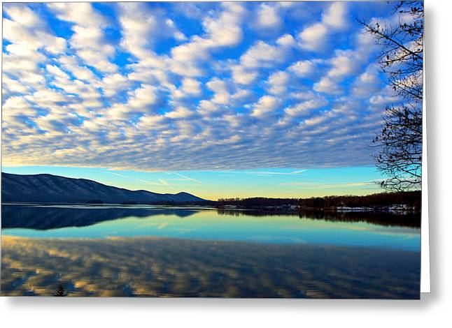 Surreal Sunrise Greeting Card by The American Shutterbug Society
