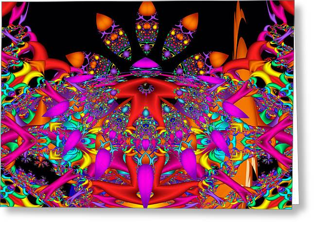 Greeting Card featuring the digital art Surrender by Robert Orinski