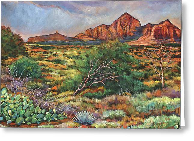 Surrounded By Sedona Greeting Card