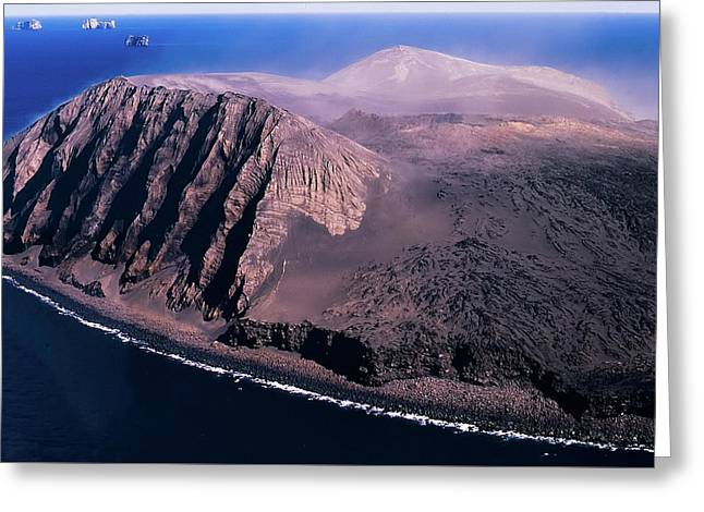 Surtsey In Iceland Greeting Card