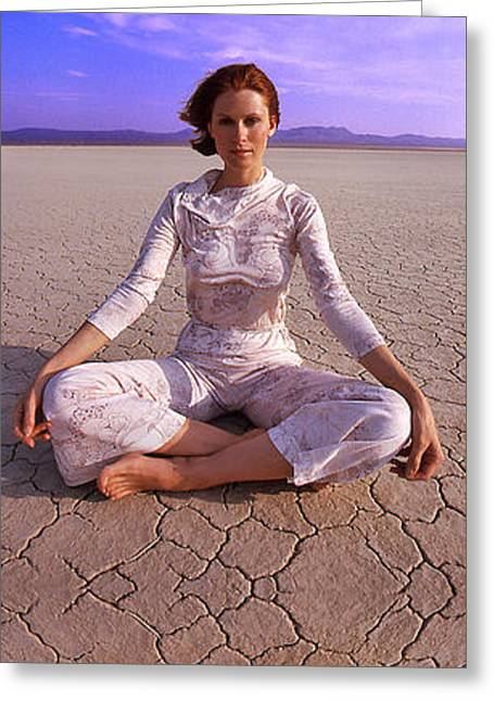 Susan Clark Desert Marage Greeting Card by Frank Bez