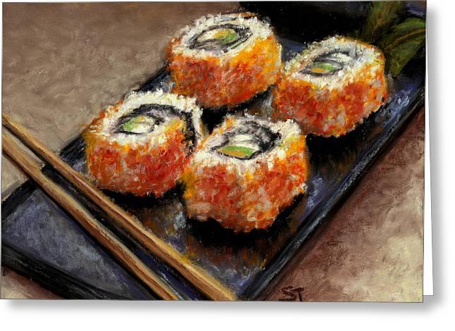 Sushi 2 Greeting Card