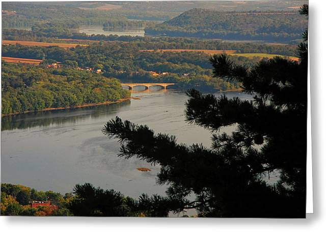 Susquehanna River Below Greeting Card