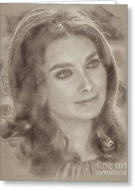 Suzanne Pleshette, Actress Greeting Card