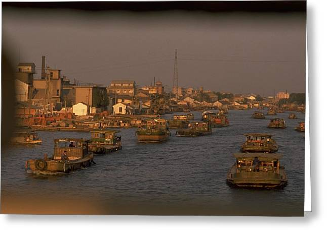 Suzhou Grand Canal Greeting Card