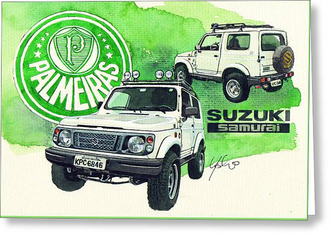 Suzuki Samurai Greeting Card