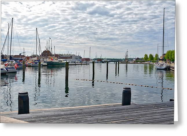 Svendborg Harbour Greeting Card