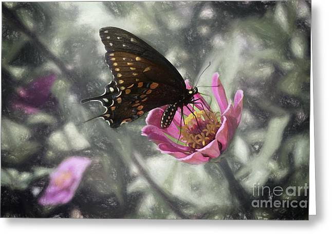 Swallowtail In A Fairytale Greeting Card