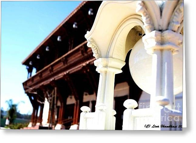 Swaminarayan Mandir Chino Hills Greeting Card