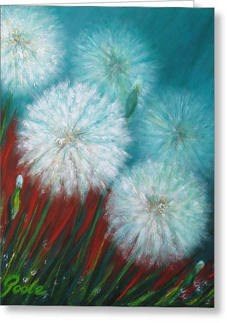 Swamp Dandelions Greeting Card