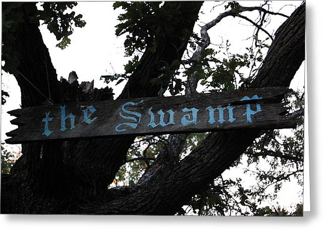 Swamp Oak Greeting Card by The Stone Age