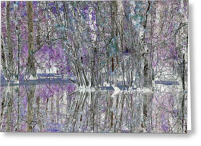 Swampscape Greeting Card
