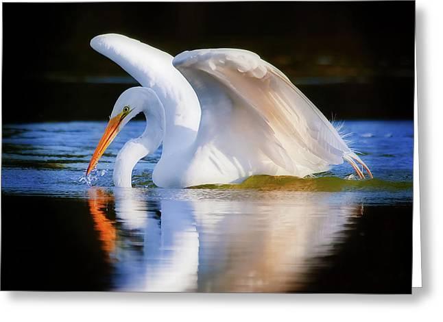 Swanlike Greeting Card