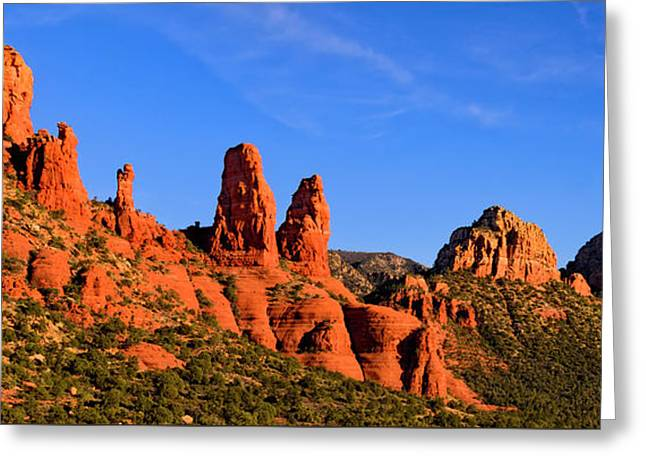 Greeting Card featuring the photograph Sweeping Sedona by Mark Myhaver