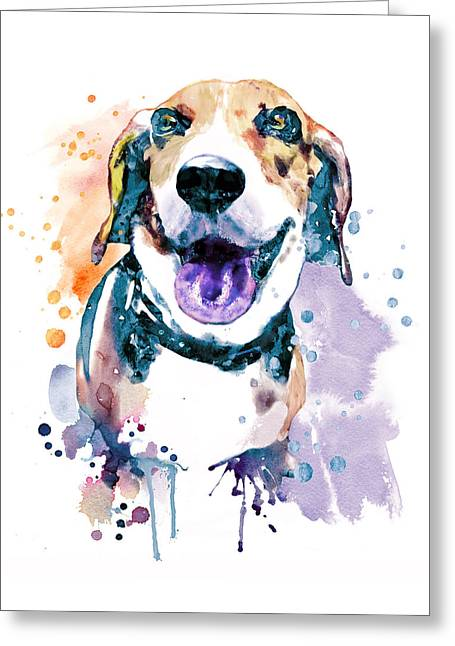 Sweet Beagle Greeting Card