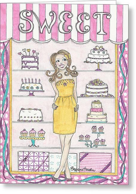 Sweet Birthday Greeting Card
